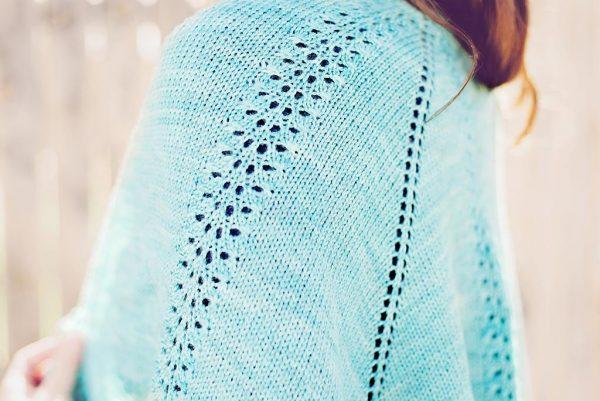 atoll shawl detail