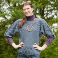 Pelerine Dolman Sweater
