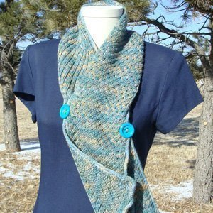 Asteri Scarf Side Button