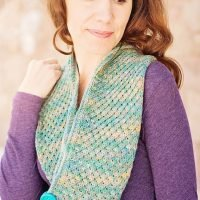 asteri scarf knit long cowl