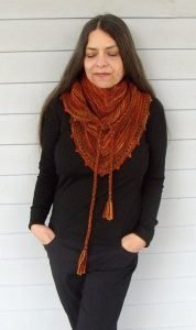 impari shawl by nina machlin dayton
