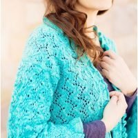midwinter dream lace cardigan