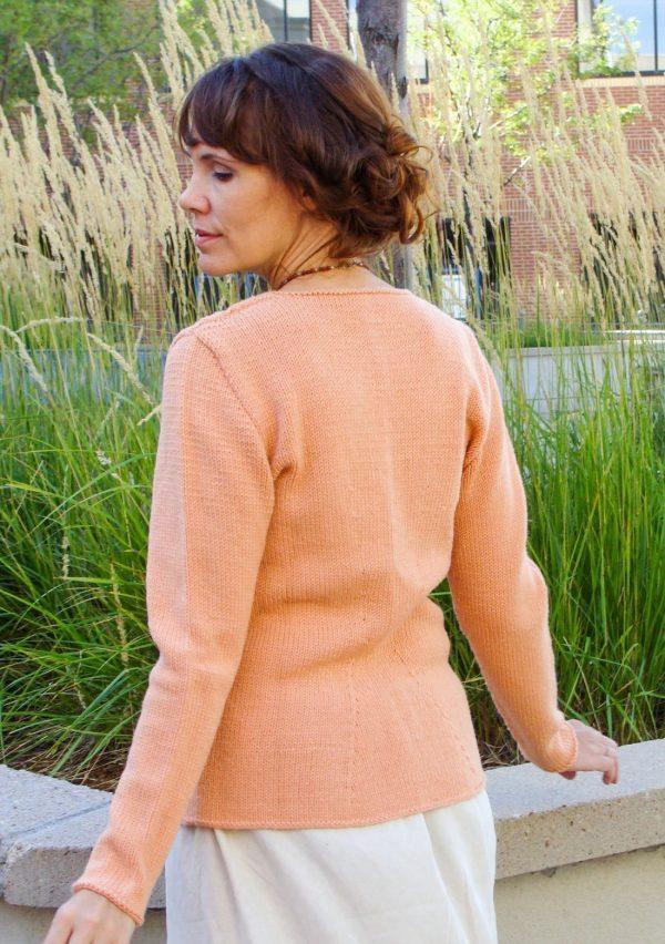 peach parfait back view