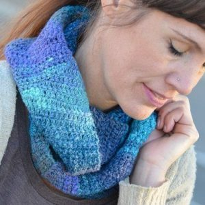 lazy river crochet cowl uniquely creative knitting and crochet patterns
