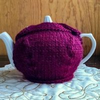 button top teapot cozy