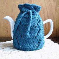 lace place teapot cozy