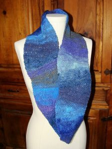 Crocheted Cowl - Noro