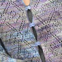 tela wrap knitting project