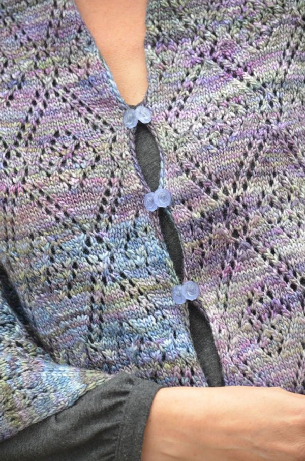 tela wrap knitting project