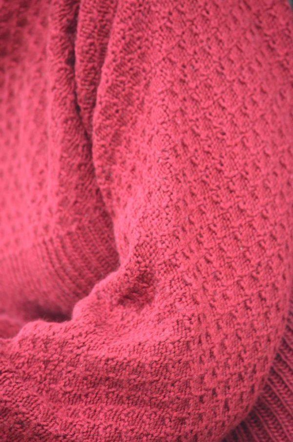 Inara Sweater sleeve detail