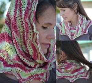 snood-cowl knitting pattern