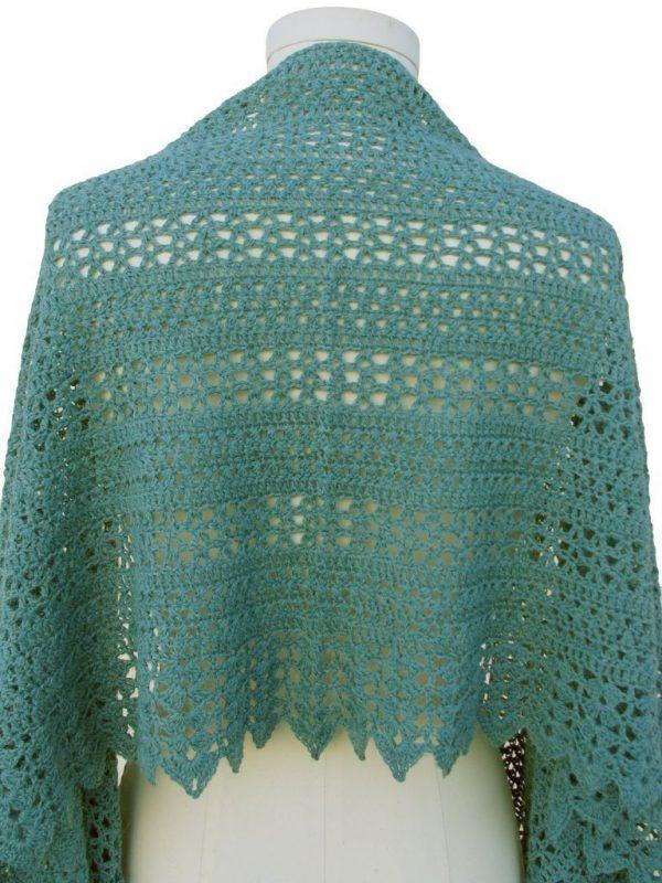 sedona shawl back view